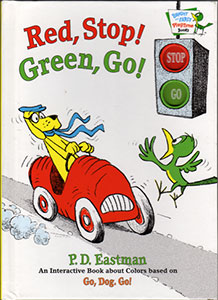 Red, Stop! Green, Go! Bright and Early Board Book